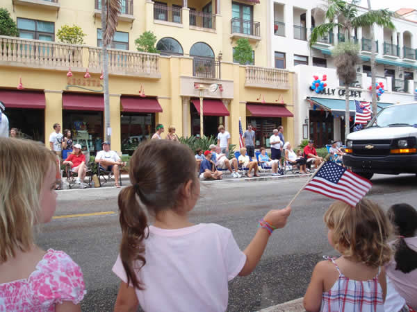 Big Parades in Small Towns